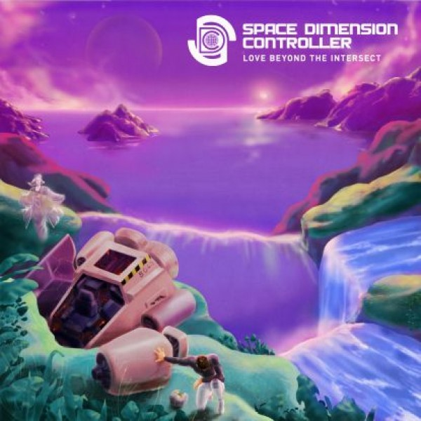 """Space Dimension Controller - """"Love Beyond The Intersect (purple Vinyl)"""""""