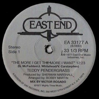 """Teddy Pendergrass - """"The More I Get"""""""