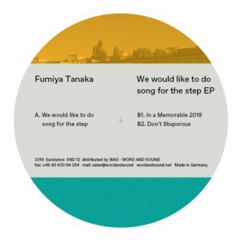 """Fumiya Tanaka — """"We Would Like To Do Song For The Step"""""""