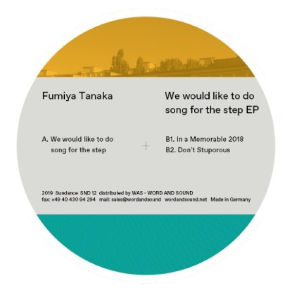 "Fumiya Tanaka — ""We Would Like To Do Song For The Step"""