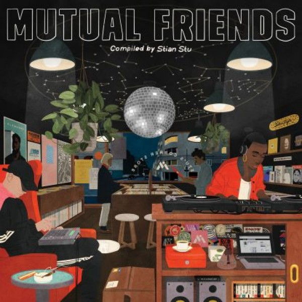 "Mutual Intentions - ""Mutual Friends Compilation (lp, Hq Cut)"""